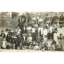 80 AULT. Grosse réunion sur la Plage 1909