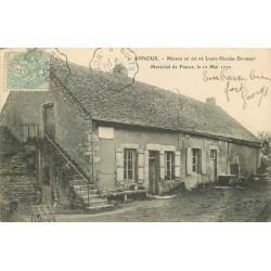 89 ANNOUX. Maison Louis-Nicolas Davoust Maréchal de France 1905