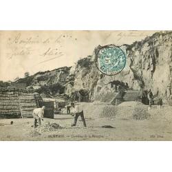 50 MORTAIN. Carrières de Montjoie 1907