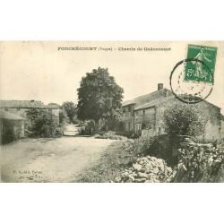 88 FOUCHECOURT. Chemin de Godoncourt 1913