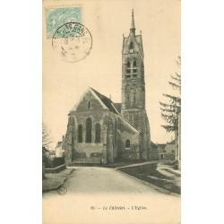 77 LE CHATELET EN BRIE. L'Eglise 1905