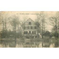 """94 VILLIERS-SUR-MARNE. Le Bois de Gaumont avec Restaurant """" Au Chalet du Lac """" 1905"""