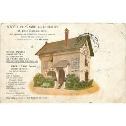 Banques PUBLICITE. Société d'Epargne des Retraites 16 Place Vendôme à Paris 1906