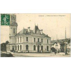carte postale ancienne 16 COGNAC. Hôtel des Postes et Télégraphes 1908