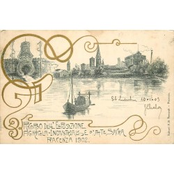 PIACENZA. Esposizione Agricola Industriale d'Arte sacra 1902-1903