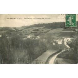 95 VERVILLE. Quartier des Graves ou Groues 1913