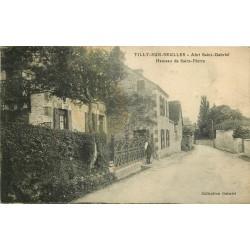 14 TILLY-SUR-SEULLES. Abri Saint-Gabriel Hameau de Saint-Pierre 1920