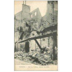 carte postale ancienne 02 SOISSONS. Rue du Collège