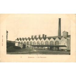 60 BRESLES. La Sucrerie vers 1900