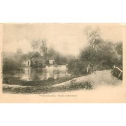 2 x Cpa 62 VALLEE DE L'AUTHIE. Moulin de Maintenay et Syphon vers 1900