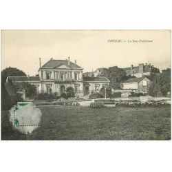 carte postale ancienne 16 COGNAC. La Sous-Préfecture