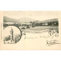 MARBURG. Rimberg vom Hernbachtpal 1901