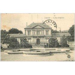 carte postale ancienne 16 COGNAC. La Sous-Préfecture 1911