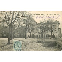 69 ECULLY. Mairie et Place 1907