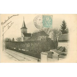 77 BOURRON. L'Eglise 1905