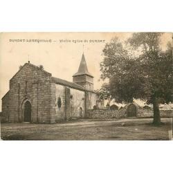 03 DURDAT-LAREQUILLE. Vieille Eglise et Cimetière