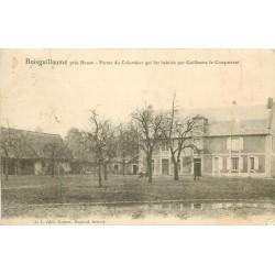 76 BOISGUILLAUME. Ferme du Colombier habitée par Guillaume le Conquérant 1904