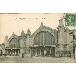 37 TOURS. La Gare