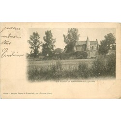 02 SAINT-PIERRE-AIGLE. Les Tourelles vers 1904