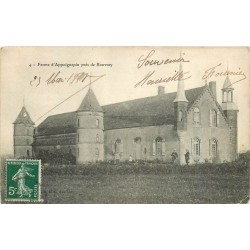 21 ROUVRAY. Ferme d'Appoignepin 1908