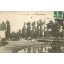 58 COSNE. Ecluse du Pezeau sur le Canal vers 1911