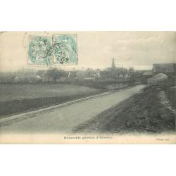 77 OISSERY. La Route vers le Village 1905