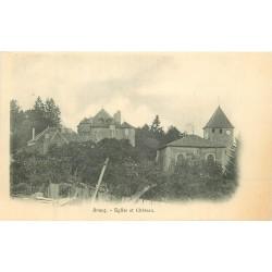 54 BOUCQ. Eglise et Château vers 1900