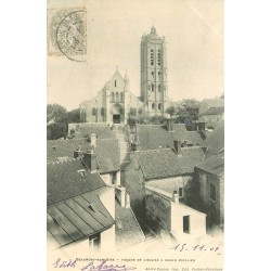 95 BEAUMONT-SUR-OISE. Eglise et Grand Escalier 1902