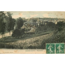 95 LOUVRES. Panorama 1908