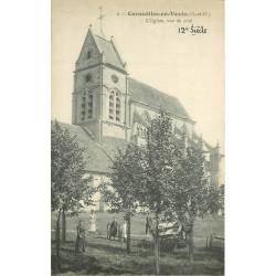 95 CORMEILLES-EN-VEXIN. L'Eglise
