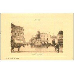carte postale ancienne 16 COGNAC. Place François Ier. Collection Morin Journaux