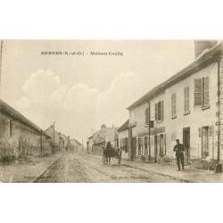 95 BERNES. Maison Cochu avec Café et Facteur