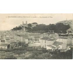 13 CHATEAURENARD-DE-PROVENCE. Vue sur le Village