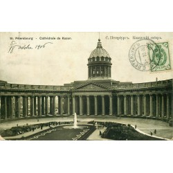 SAINT-PETERSBOURG. Cathédrale de Kazan 1906