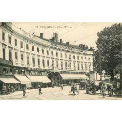 31 TOULOUSE. Grand Hôtel Capoul et Pharmacie du Soleil Place Wilson