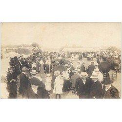 carte postale ancienne 16 COGNAC. Rare Carte Photo un Patronnage dans les Prés. Photographie d'Art BARRIER et Fournier