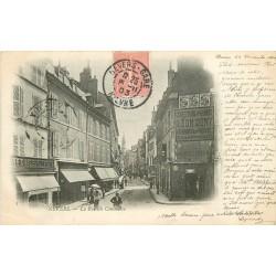 58 NEVERS. Rue du Commerce nombreux Commerces en 1903