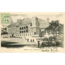 MONACO. Le Palais du Prince 1904