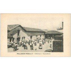 carte postale ancienne 16 COGNAC. Tonnellerie Pelllisson