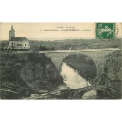 89 PIERRE-PERTHUIS. Les Ponts dans la Vallée de la Cure 1908