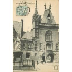 18 BOURGES. Entrée Palais Jacques-Coeur 1908