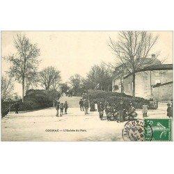 carte postale ancienne 16 COGNAC. Troupe Jeunes Tambours au Parc 1908
