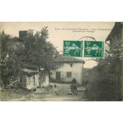 87 LAURIERE. Ferme à l'Entrée du Village nos Campagnes 1918