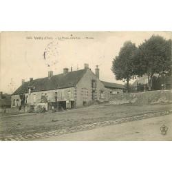 18 VAILLY. Mairie sur la Place du Village 1907