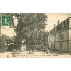 91 MONTGERON. Jardins Hôtel Restaurant du Parc maison Dufournaud 1916