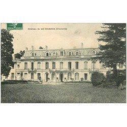 carte postale ancienne 16 COURADE. Le Château 1909