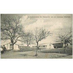carte postale ancienne 16 LA COURONNE. Cantonnement du Pénitencier. Tampon Militaire 8° Génie