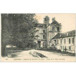 carte postale ancienne 02 SOISSONS. Séminaire Saint-Léger 1918