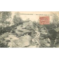60 NANTEUIL-LE-HAUDOIN. Pierre glissoire Route de Crépy 1905
