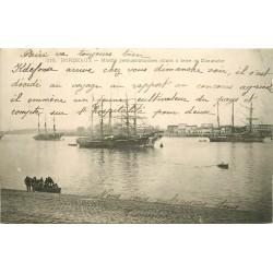 33 BORDEAUX. Marins permissionnaires allant à terre le Dimanche 1905